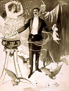 #Vintage Venus - Timeless Vintage #Magic & #Circus Posters and Prints