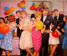 Learn to host a Mad Men party and save with our guide on vintage clothing, cocktail glasses and accessories, jazz music and mid-century modern style. Mad Men Party, Man Party, House Party, Party Animals, Animal Party, 60s Party Themes, 60s Theme, Party Ideas, Theme Parties