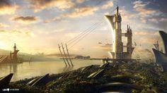 fantasy-cities-wallpaper-castle-art.jpg (1920×1080)