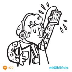 July 1st. Remember the walkman? The first one ever was revealed to the world 35 years ago today.   #100HellYeahs