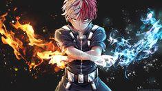 Character: Todoroki Shouto (Wallpaper) by SpukyCat
