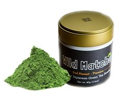 Organic Matcha Green Tea From Japan Wild Matcha Ceremonial Grade JAS Organic 40 gram Harvest Premium >>> Read more at the image link. Organic Matcha Green Tea, Matcha Green Tea Powder, Iced Tea Maker, Gourmet Recipes, Healthy Recipes, Premium Tea, Matcha Benefits, My Tea, Japanese Food