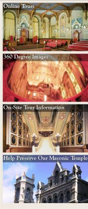 The Masonic Temple On-Site Tour Information #Philly