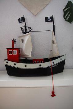 Tolles Schiff aus Holz-Hoppetosse von Pippi Langstrumpf-Micki in Spielzeug, Holzspielzeug, Fahrzeuge | eBay