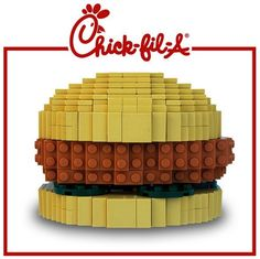 LEGO Chick-Fil-A Chicken Sandwich [Lunch Time]