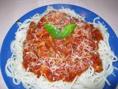 Spaghete cu dovlecel, kaizer i sos de roii, poza 2 Pasta, Ethnic Recipes, Food, Essen, Meals, Yemek, Eten, Pasta Recipes, Pasta Dishes
