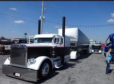 Custom semi truck