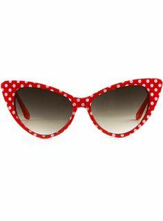 5c214b7b5e67 Dottie Sunglasses in Cherry at ShopPlasticland.com Cool Glasses