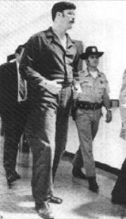 """6'9"""" Ed Kemper, in police custody"""