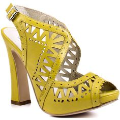 Lovely People Dorothy - Yellow ($70) ❤ liked on Polyvore