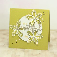 Julia for Concorde & 9th using Wildflower Floral Stamp and Beautiful Words die (stapled)