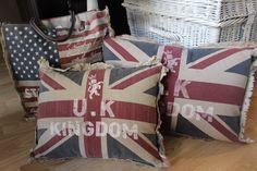 Kissen Union Jack von Mars and More gibt es hier bei uns im Online Shop www.ambienteathome.de