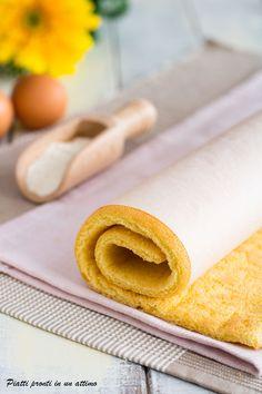 La #Pasta biscotto è una ricetta base per realizzare rotoli, merendine e dolci a strati