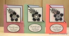 Hello, Crafters.   This morning I uploaded my video which shows how I made the Corner Fold Card I shared with you on Thursday.       I  ...