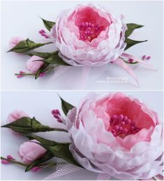 Fabric see through blush pink roses A Simply Amazing Life Discover thousands of images about Silk Ribbon Embroidery … For amazing life and cool ideals for wonderful life,please vist our website How to make Fabric Flower, Rose for wedding, Tutorial, Organza Flowers, Cloth Flowers, Felt Flowers, Diy Flowers, Paper Flowers, Making Fabric Flowers, Flower Making, Flower Fabric, Brooches Handmade