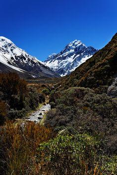 Mount Cook, Canterbury, South Island, New Zealand Copyright: Yves Emprin