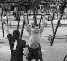 "Crossfit: ""You can find people that are willing to put in the work and are willing to work out a ton. But really, are you willing to take yourself to a really bad, crappy place almost every single time you workout? Rich Froning, Crossfit Games, Crossfit Athletes, Circuit Training, Gym Training, Motivation Inspiration, Fitness Inspiration, Spartan Life, Crossfit Motivation"