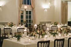 Connecticut Wedding and Event Florist Rectangle Wedding Tables, Long Table Wedding, Newhaven, Centerpieces, Table Decorations, Wedding Flowers, Floral Design, Table Settings, Traditional