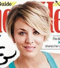 kaley cuoco new haircut 2014 - Google Search