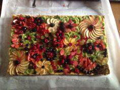 Italian fruit platter