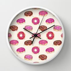 Cute donut design.  Available on other products, too.
