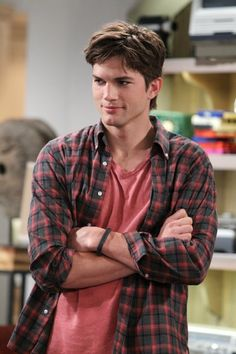 Ashton Kutcher in 'two and a half men