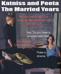 #Hunger Games Humor #Married life