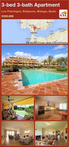 3-bed 3-bath Apartment in Los Flamingos, Estepona, Malaga, Spain ►€320,000 #PropertyForSaleInSpain