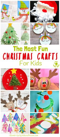 Bored of the same old christmas craft ideas? here's awesome brand new christmas crafts not to be missed! grab the kids for a fun and festive craft time. Craft Activities For Kids, Christmas Activities, Preschool Crafts, Christmas Themes, Craft Ideas, Christmas Carnival, Decor Ideas, Festive Crafts, Holiday Crafts
