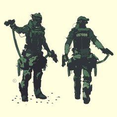 Soldier assassin