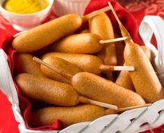 Gli hot dog on a stick sono un buonissimo piatto!