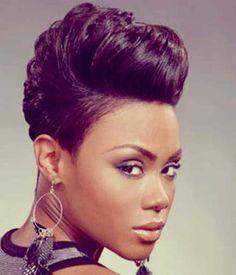 Short Hairstyles Black Hair black womens short hairstyle New Short Hairstyles Trends African American Womenafrican