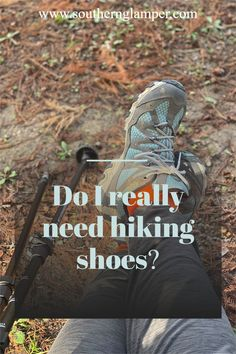 Hiking shoes may seem unnecessary, but you do need them! #hiking #camping #oboz #merrell #llbean #hikingshoes #hikingboots #campingactivities #hikingwithkids #campinglife Rv Travel, Budget Travel, Travel Tips, Hiking With Kids, Travel With Kids, Hiking Gear, Hiking Shoes, Llbean, Packing Lists