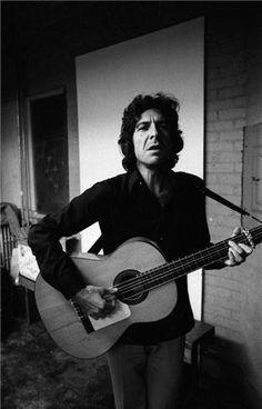 Leonard Cohen by Joel Bernstein, 1970
