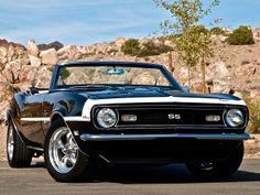 1968 Camaro SS Convertible 4spd