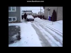 """Easy Way To Shovel Snow~This is brilliant. It had to be the husband that said, """"But I don't WANT to do it....I'll hire someone to shovel the drive."""" and the wife that said """"Do it the easy way""""! But then, I'm the wife fighting the snow on the driveway, and now that I see the solution, I have to hope Santa brings a remote controlled road grader to hubby for Christmas!!  This is a great video. Thanks again to FB friends for bringing it to my attention!"""