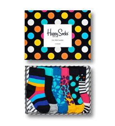 When you can't decide which Happy Socks designs would look best on your child, you need a kids gift box!