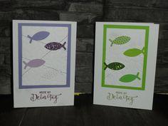Glückwunschkarten - Grußkarte - ein Designerstück von kreatives-allerlei bei DaWanda, stampin' up Grußkarte ,Konfirmation,Kommunion,Firmung