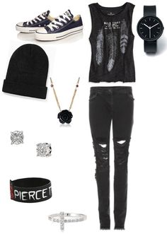 Pierce the veil. Love it! so my style