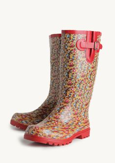WANT! Field Of Dreams Rainboots at #Ruche @Ruche