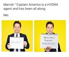 I'm not to fond of this hydra thing, but I'll be somewhat ok with it as long as it doesn't somehow find its way into the MCU (unlikely) #SaynotoHYDRAcap