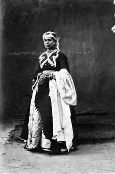 Africa   Femme juive, Tanger, Maroc. ca. 1870   ©George Washington Wilson