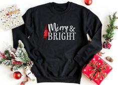 Merry & Bright, Christmas Shirts, Christmas Sweatshirts, Buffalo Plaid Christmas, Pajamas Gifts, Women Christmas Gifts,Christmas Movie Shirt  #familychristmas  #christmassweaters #christmasgifts #christmasshopping #christmasshirts  #sweatshirts #festive #wintersweaters #merrychristmas #merryandbright Christmas Fashion, Plaid Christmas, Christmas Gifts, Funny Christmas Sweaters, Christmas Pajamas, Merry Christmas Ya Filthy Animal, Ugly Sweater, Merry And Bright, Sweaters For Women