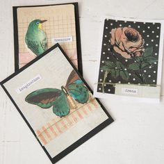 Sweet Springtime Cards Project - Stampington