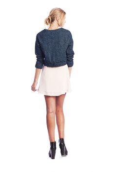 Jean Sweater $189 NZD June Skirt $179 NZD www.makeheartsrace.com