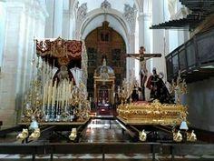 Semana Santa, Parroquia San Pedro, titulares de la Cofradía del Consuelo. Antequera.