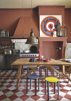Une cuisine bordelaise, véritable pièce à vivre déco