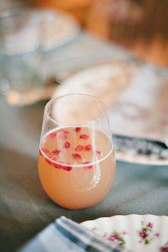 spiced ginger pear cocktail