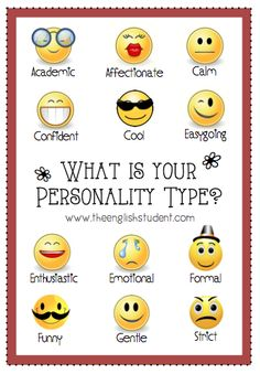 Share your personality type!