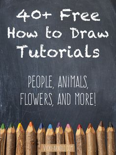 Drawing Techniques 40 Free How to Draw Tutorials - This list contains tutorials for body parts, animals, flowers, and more! by suzana Painting & Drawing, Drawing Tips, Figure Drawing, Shading Drawing, Pencil Drawing Tutorials, Sketching Tips, Learn Sketching, Beginner Drawing Lessons, Drawing Techniques Pencil